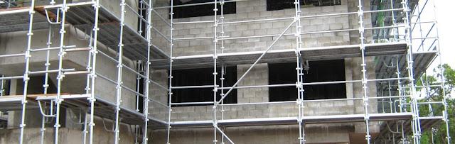 Scaffolding Utuk Pembuatan Berbagai Konstruksi Gedung