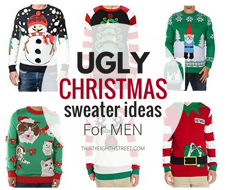 ugly christmas sweaters, mens ugly christmas sweaters, ugly christmas sweater ideas for men, ugly christmas sweater party