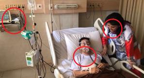 Netizen Bongkar Foto Kejanggalan Setnov di Rumah Sakit