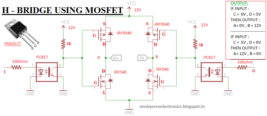 Using Nchannel And Pchannel Power Mosfet As A Switch In