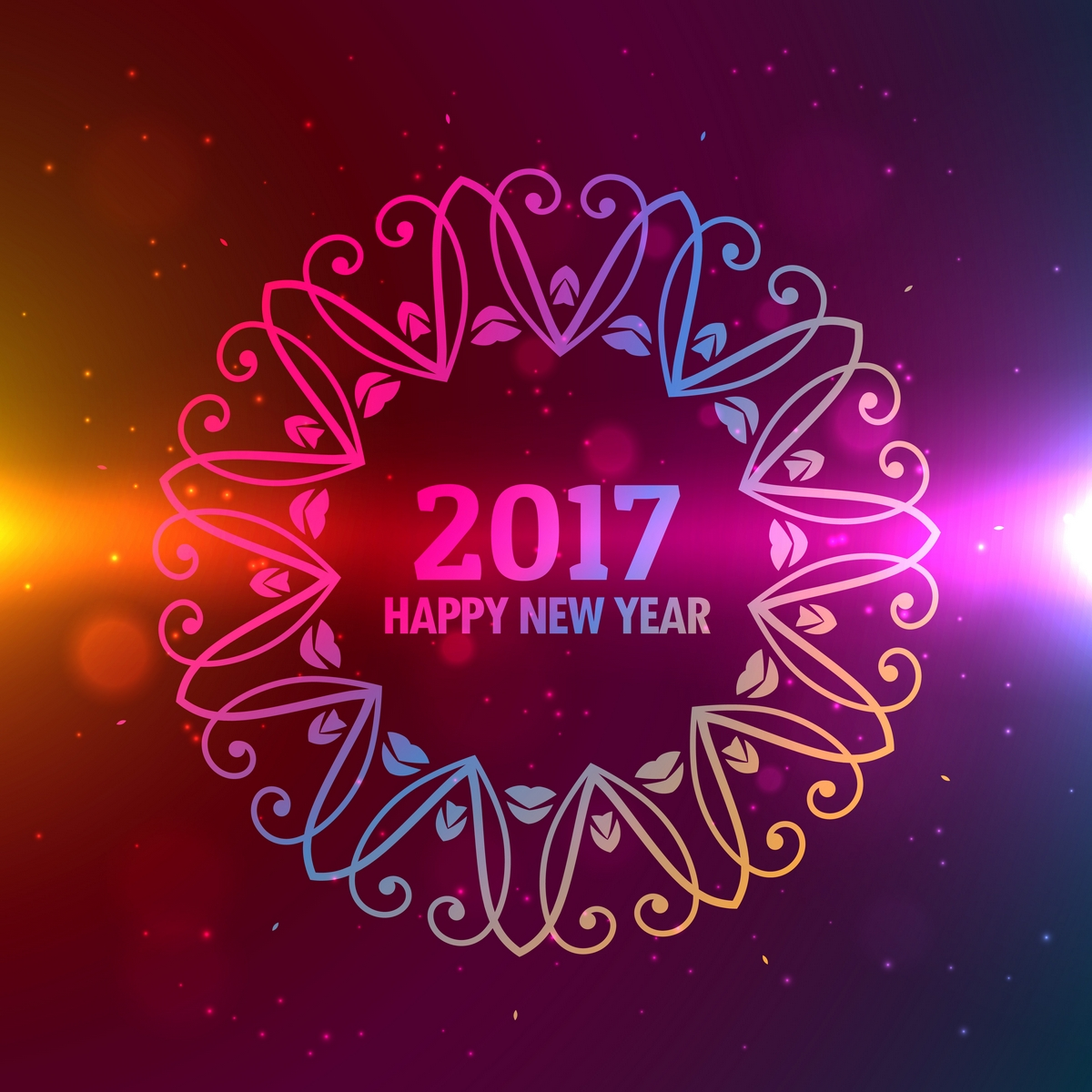 Happy New Year 2017 Messages In English