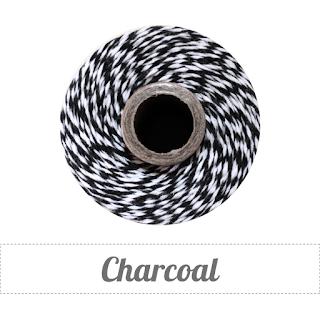 charcoal twine