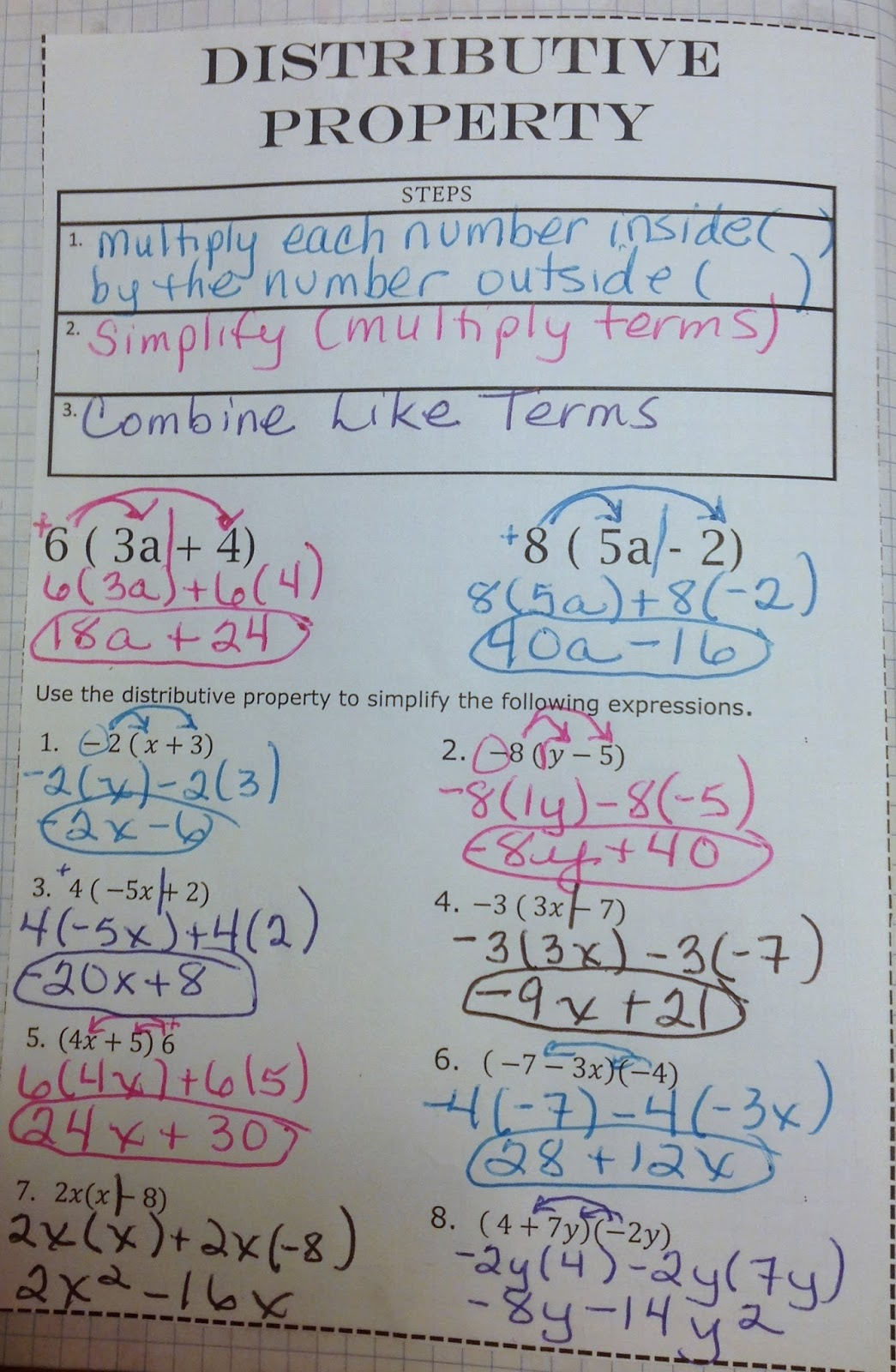 Colorful Fractions Worksheet In Worksheets Simplifying And ...