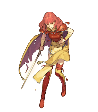 PNG- Cellica (Fire Emblem)