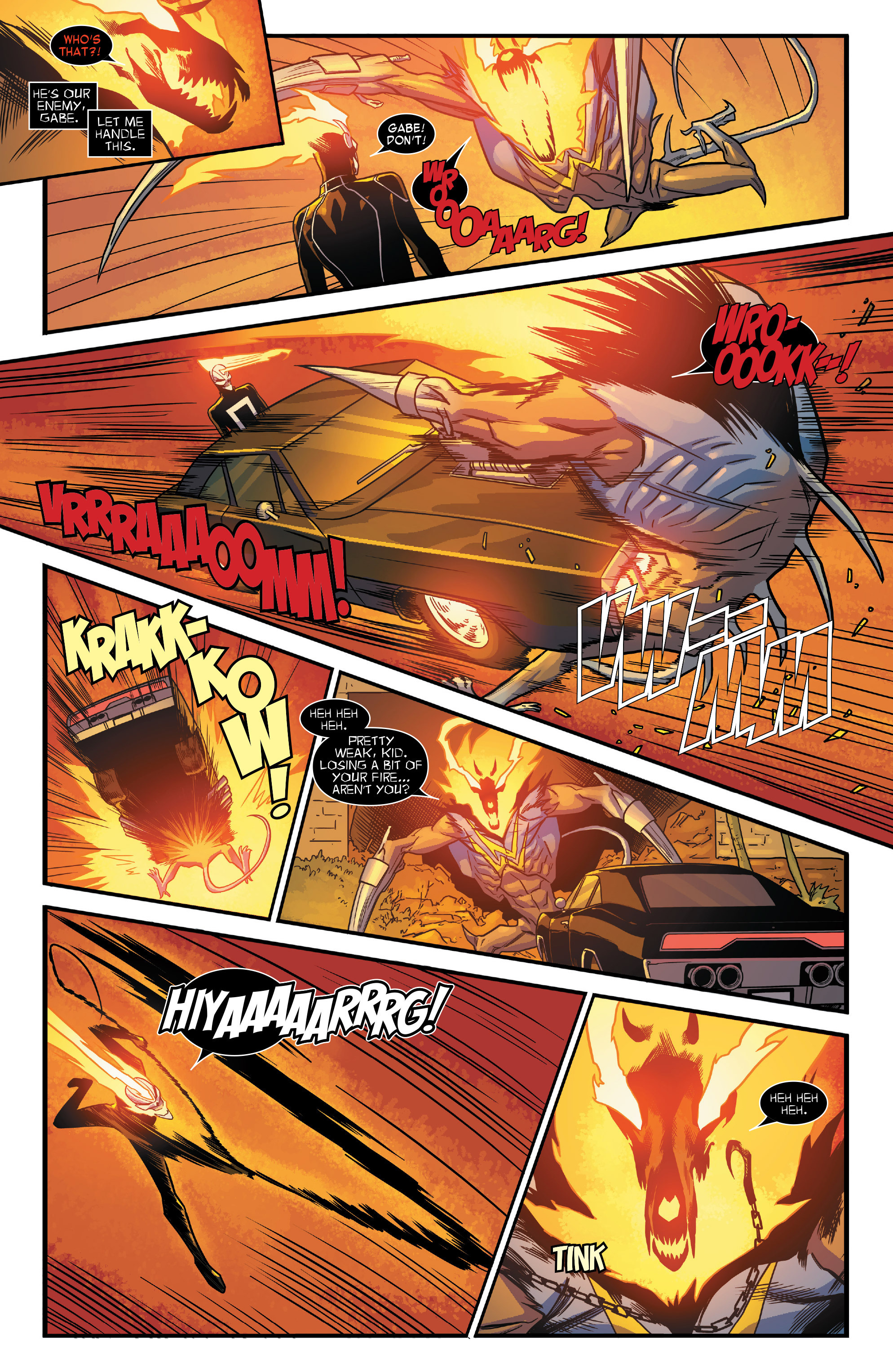 Read online All-New Ghost Rider comic -  Issue #12 - 16