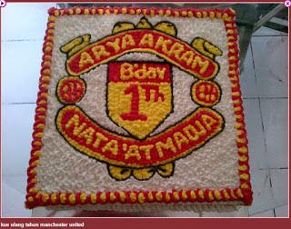 Kue Ulang Tahun Manchester United