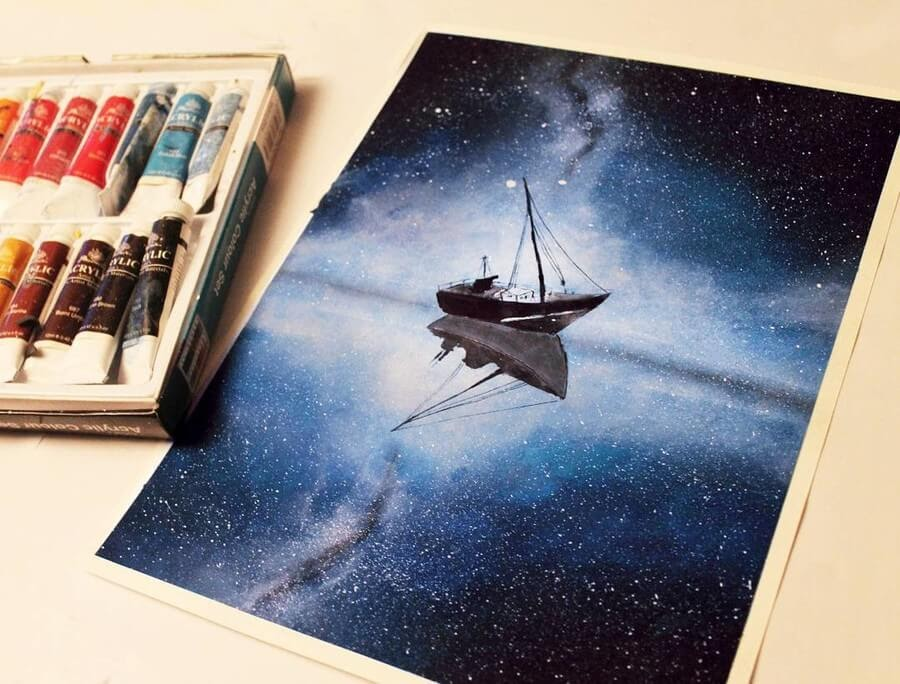 03-starry-night-skies-Fadiya-faroon-Draw-and-Paint-in-Fantasy-Landscapes-www-designstack-co