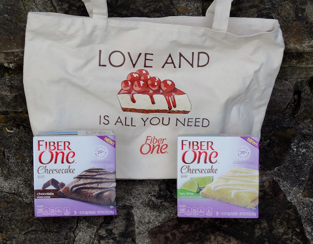 Fiber One Cheesecake bars tote and new flavors #giveaway
