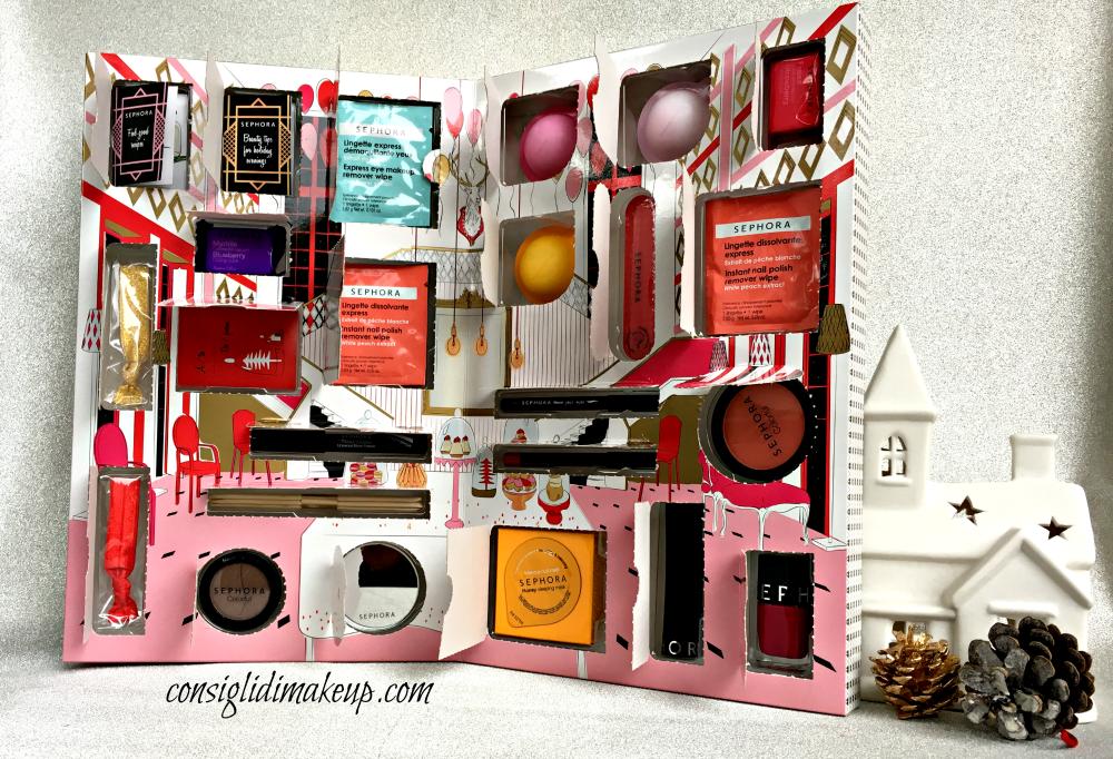 Calendario dell'Avvento - Sephora - Consigli di Makeup ...