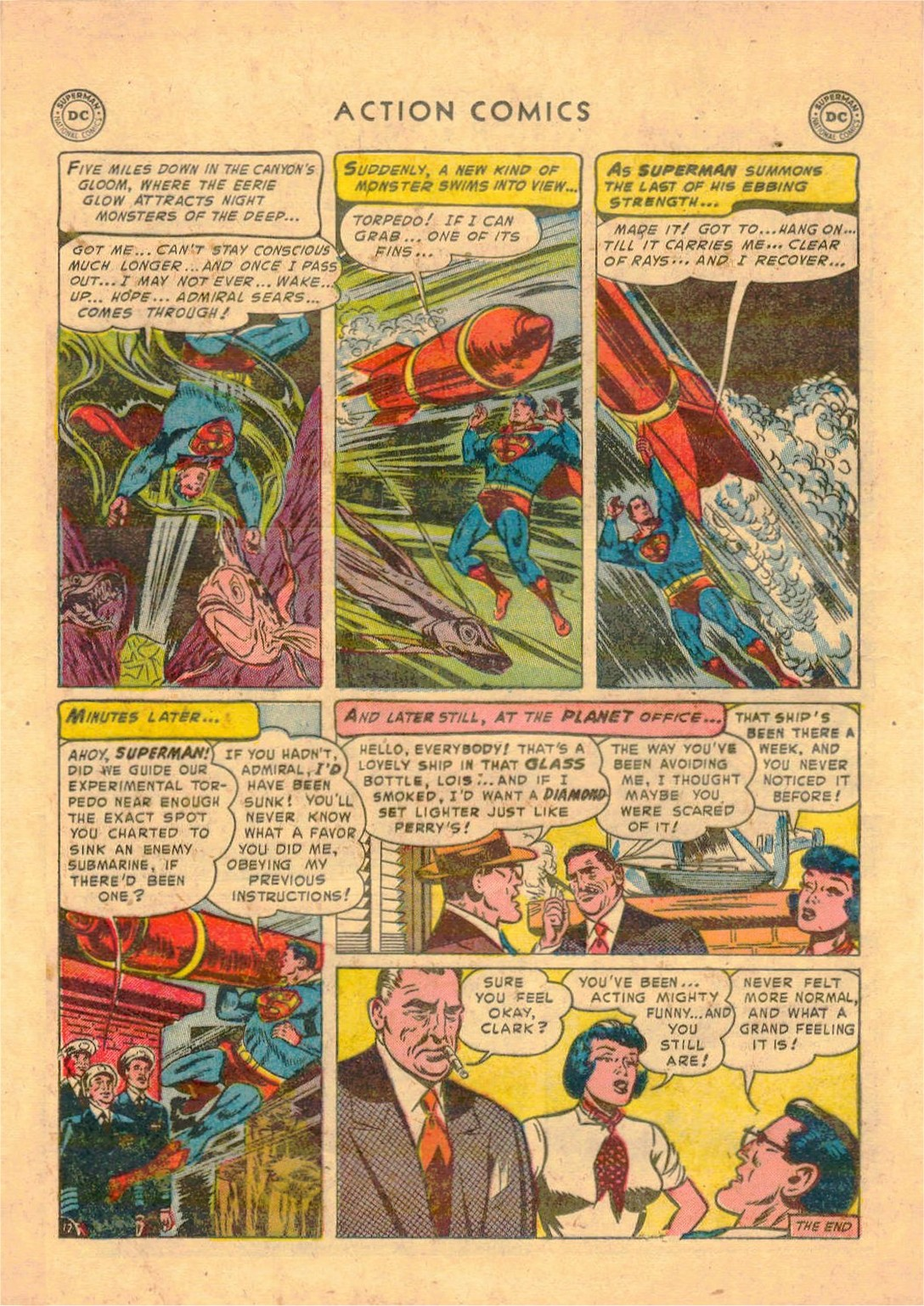 Read online Action Comics (1938) comic -  Issue #181 - 13