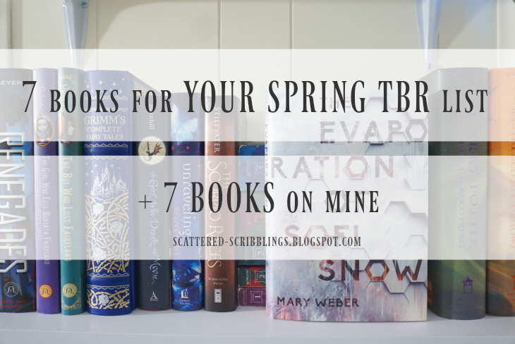 7 Books For Your Spring Reading List + 7 Books On Mine [post title image]