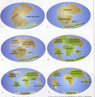 Continenti come si sono formati