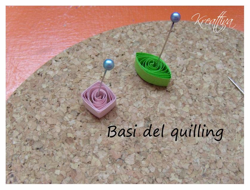 Forme basi per il quilling