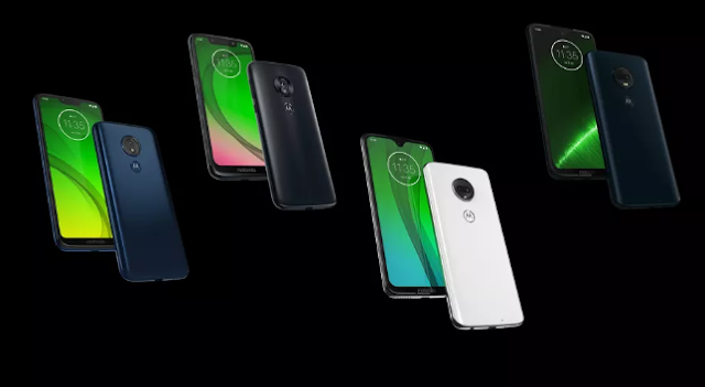 Moto G7 series models - Moto G7, G7 Plus, G7 Play and G7 Power launch officially