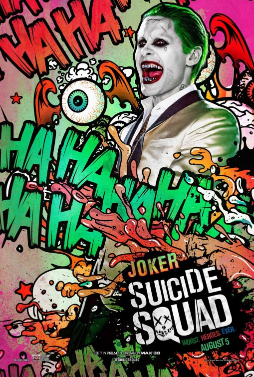 Joker Suicide Squad movie poster