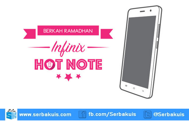 Giveaway aduGADGET 6 Berhadiah Infinix Hot Note X551