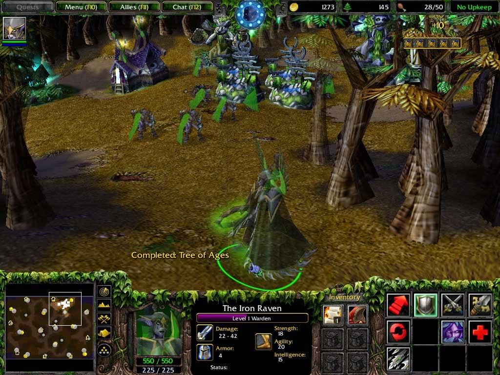 Warcraft 3 frozen throne cd
