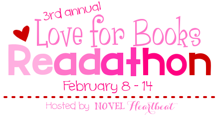 http://novelheartbeat.com/2016/02/3rd-annual-love-for-books-readathon/