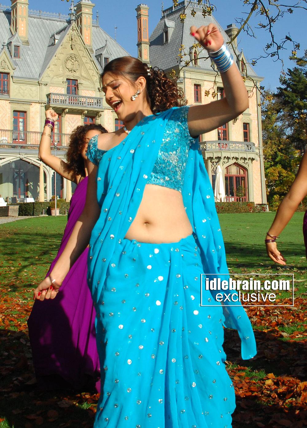 Telugu Actress Siya Latest Hot Deep Navel Show Photos In -6312