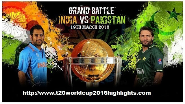 india vs pakistan t20 2016 live highlights india vs pakistan t20 match ...