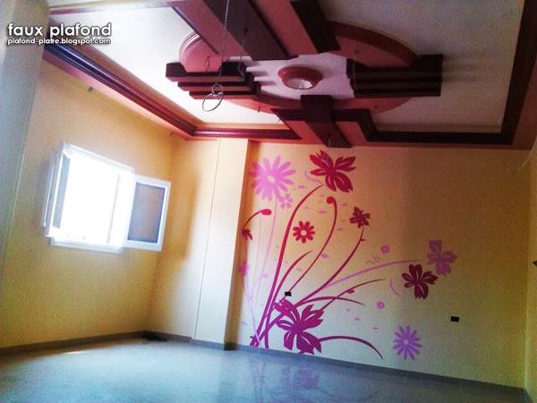 Faux Plafond Platre Suspendu Et Tendu Plafond Chambre