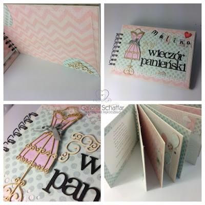 manekin z papieru, ozdobne motywy, wieczory panieńskie, pastelowe papiery do scrapbookingu polskie