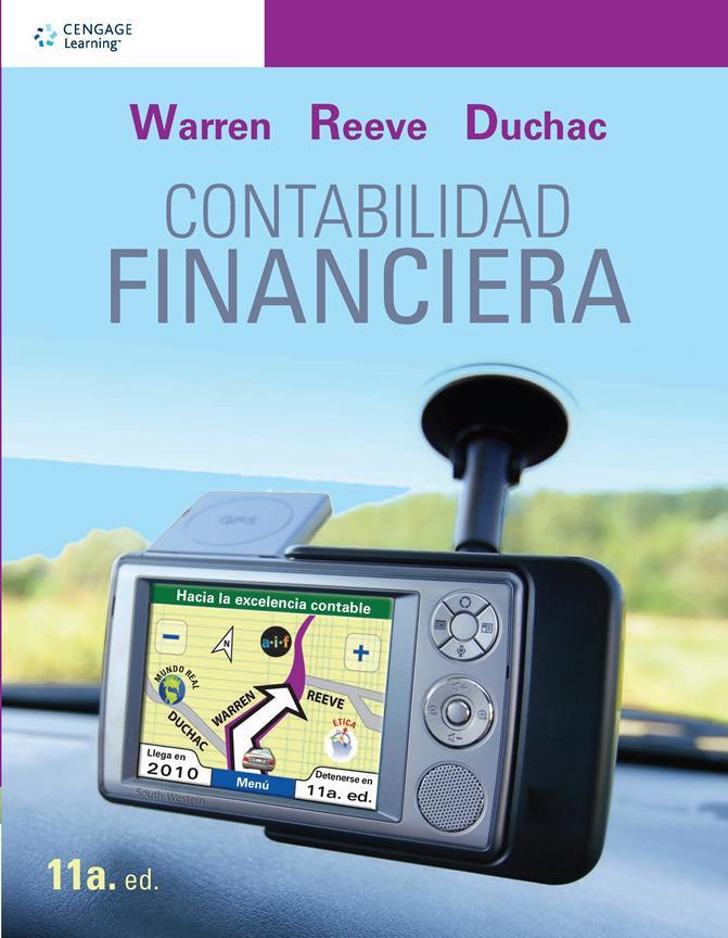 Contabilidad financiera, 11va Edición – Carl S. Warren