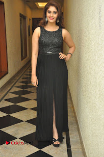 Actress Surabhi Stills in Black Long Dress at turodu Audio Launch  0150.JPG