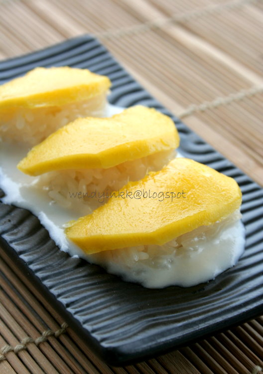 Mango Sticky Rice Recipe Hot Thai Kitchen
