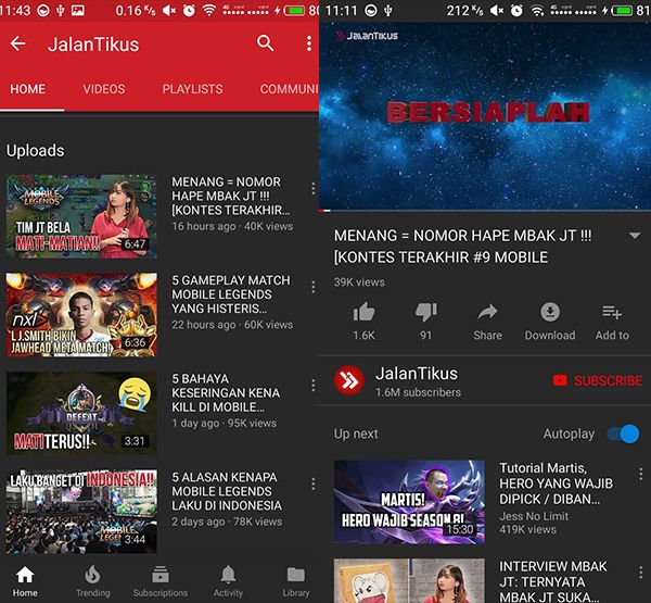 Download gratis dan Cara menginstall Youtube Red for Android