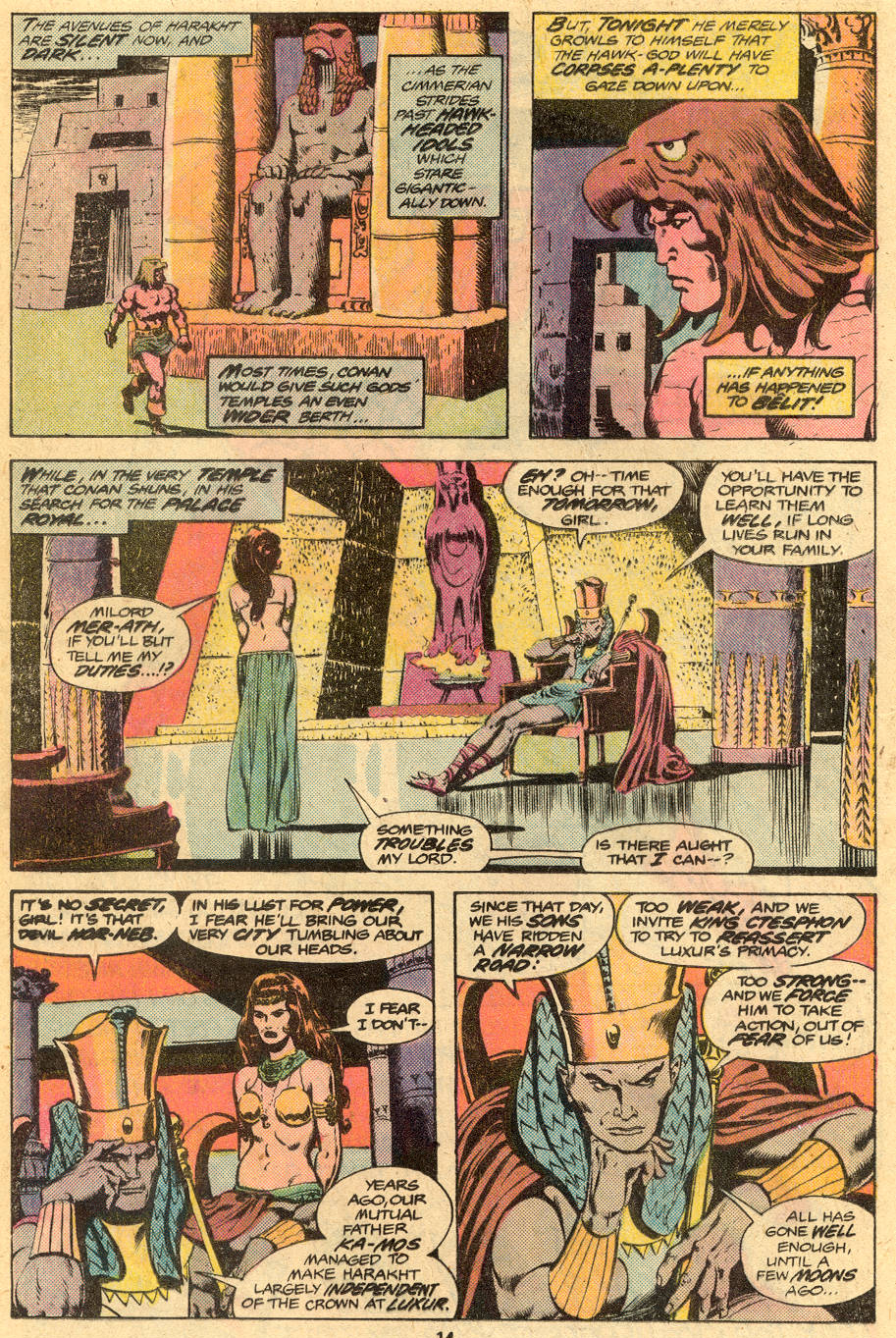 Conan the Barbarian (1970) Issue #76 #88 - English 9