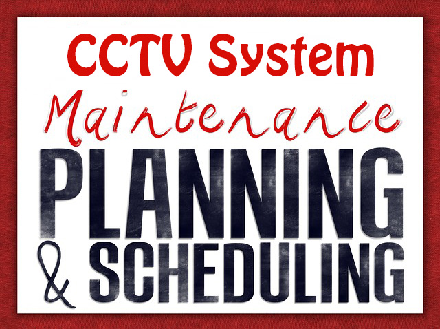 cctv Maintenance checklist