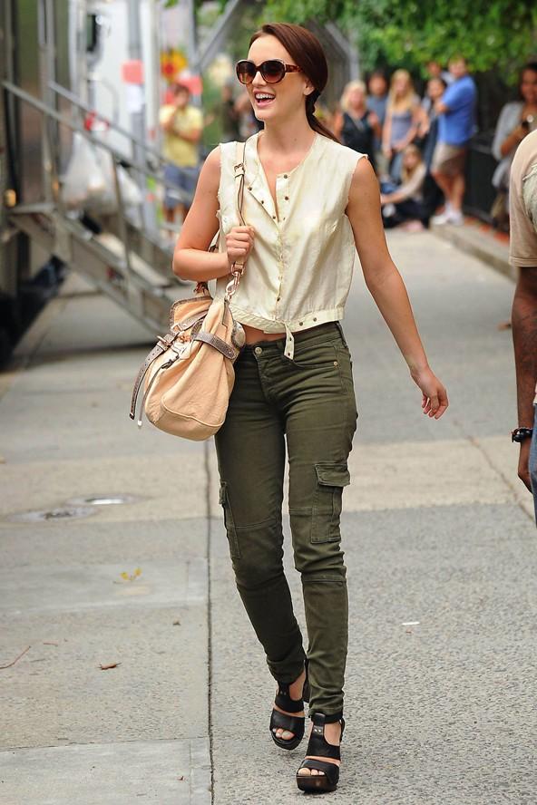 Leighton Meester Gossip Girl Style