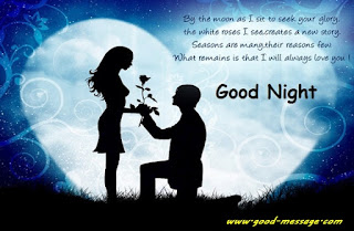 good night messages for love