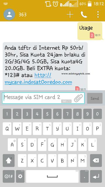 Promo Paket Internet Indosat 25GB 50 Ribu Rupiah