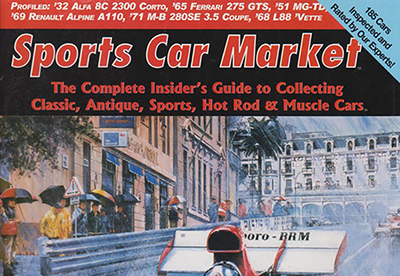 Check out my Sports Car Market magazine cover layouts in my Behance portfolio