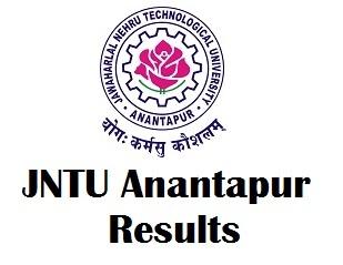JNTU Anantapur Exam Results 2017