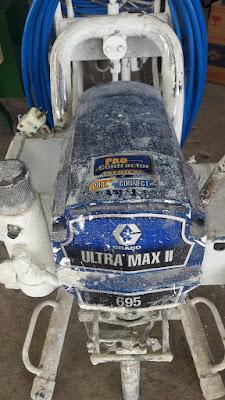 Buriram Graco 695 electric airless paint sprayer