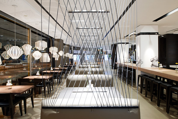 imagine these restaurant interior design holyfields frankfurt germany designed by. Black Bedroom Furniture Sets. Home Design Ideas