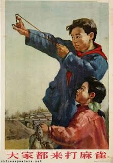 Mussen, Mao, gloeilampen