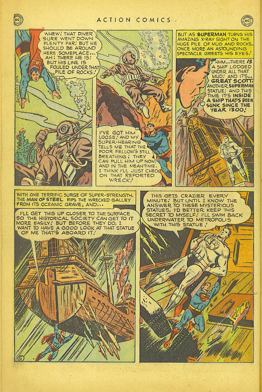 Read online Action Comics (1938) comic -  Issue #150 - 7