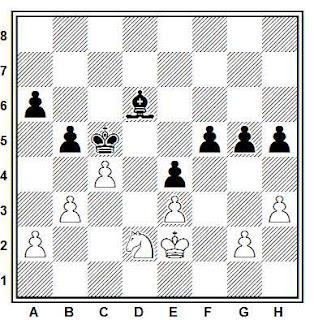 Estudio artístico de ajedrez compuesto por Joaquim Travesset (2011)