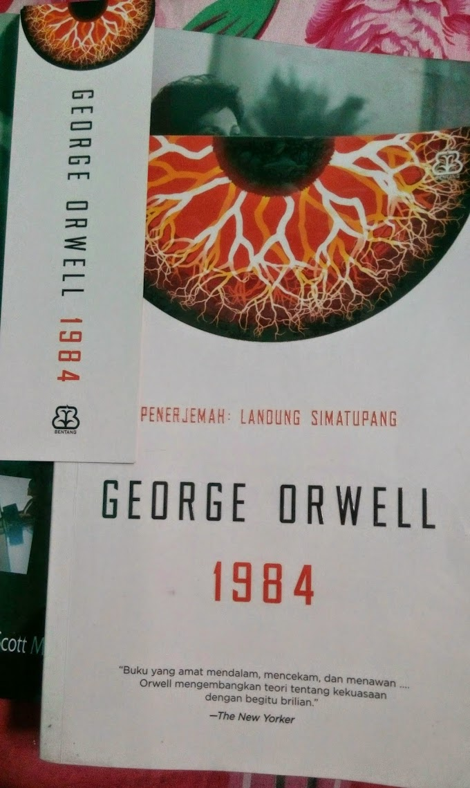 [BOOK REVIEW] 1984 by George Orwell #MBRCKBI2015