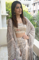 Rashi Khanna in a Tebe Top Sizzling Beauty at Tholi Prema Movie Interview ~  Exclusive 004.jpg