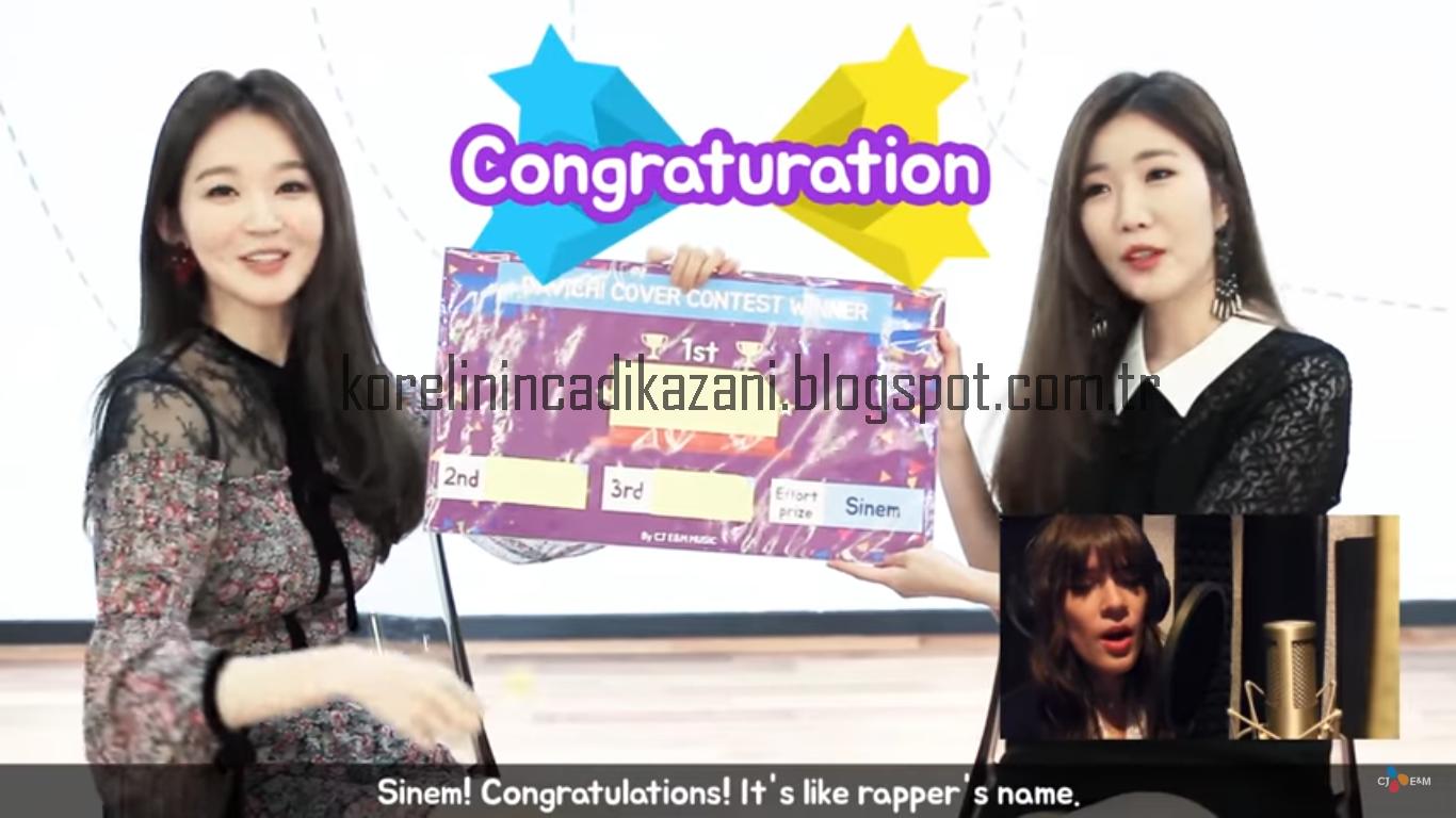 Davichi ile Düet Yarışmasında Çaba Ödülü Kazanan Türk Kızı!