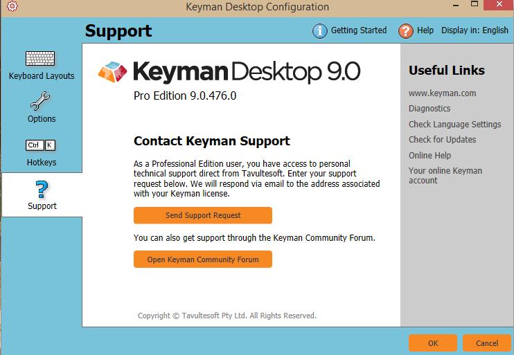 tavultesoft keyman 6.0 software