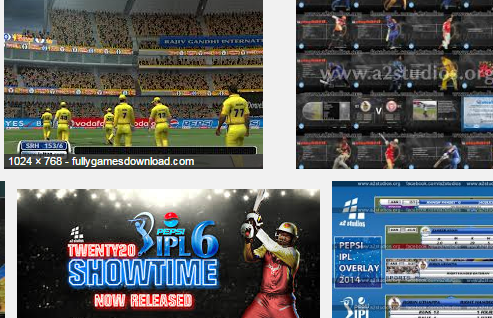 Pepsi Ipl 6 2013 Game for PC Free Download