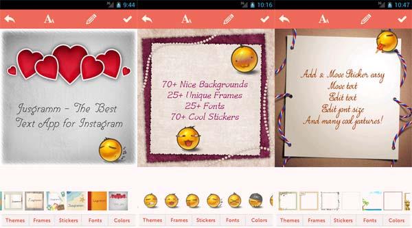 Insta Text - Aplikasi Pembuat Kata Kata Android