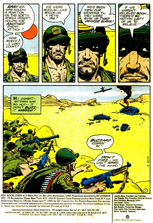 Read online Sgt. Rock comic -  Issue #370 - 3