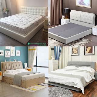 giường ngủ không chân